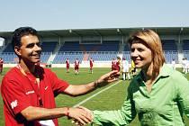 Bude mít po zítřejším utkání důvod k úsměvu Dušan Žovinec, nebo Jitka Klimková?