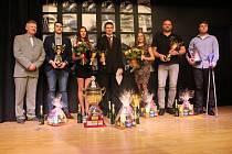 V sále hlucké tvrze oceňovali v pátek 26. ledna nejlepší sportovce a sportovní kolektivy za rok 2017.