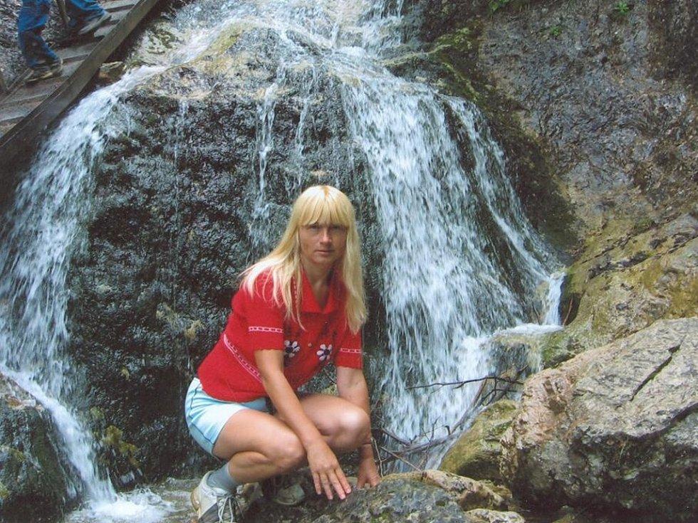 Malý vodopád na Horných dierách u Malé Fatry.