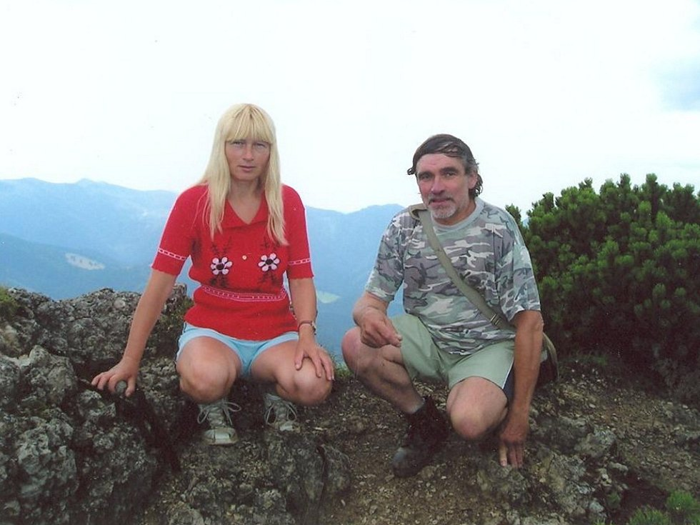 Na vrcholu Malého Rozsutce (1343 m).