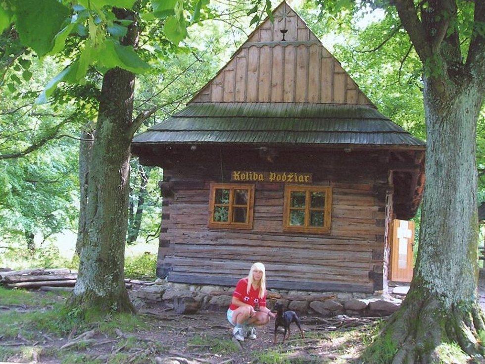 U Koliby Podžiar na Malé Fatře cestou z Nových dier.