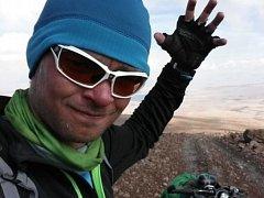 Miroslav Šlégl na své cestě na kole Napříč Jižní Amerikou.