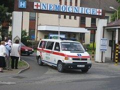 Nemocnice v Uherském Hradišti. Ilustrační foto.