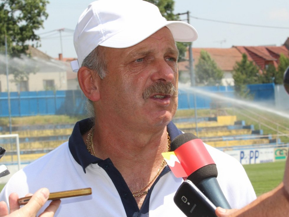 Stanislav Levý trenér 1.FC Slovácko
