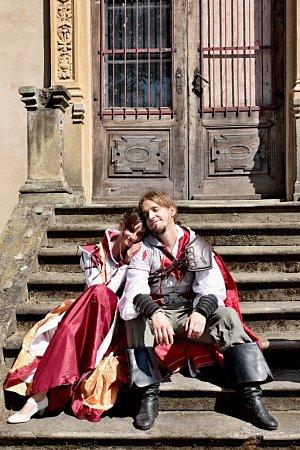 Soutěžní svatební pár číslo 288 - Veronika a Martin Matějkovi, Praha.