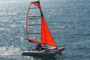 Martin Horák vyrábí nafukovací plavidla v Bílovicích.
