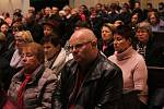 Koncert na památku padlých v uherskohradišťském Kostele sv. Františka Xaverského odzpíval smíšený pěvecký sbor Svatopluk s varhanním doprovodem.