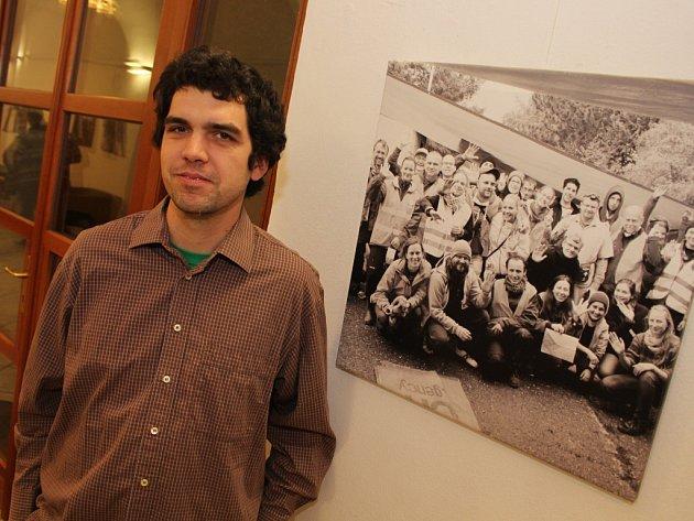 V uherskohradišťské Redutě budou až do třetího ledna k vidění fotografie Jana Skalíka z jeho cest po Balkáně a zkušeností s imigrační vlnou.