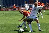 Fotbalisté Slovácka v opožděné generálce na start první ligy porazili Znojmo 3:0.