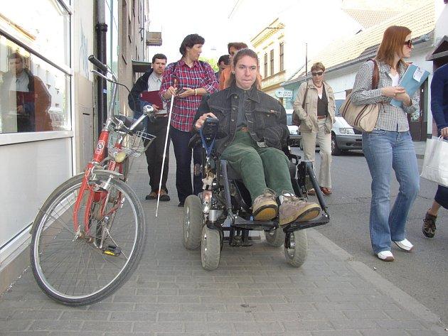 Kampaň za práva postižených by měla napomoct i ke zvýšení mobility handicapovaných.