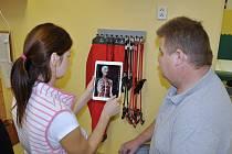 ZDRAVOTNÍ STAV V OBRAZE. Pacienti lépe pochopí své zdravotní problémy a jejich léčbu za pomocí nových technologií iPad