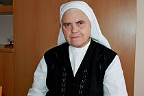 Sedmašedesátiletá sestra Václava Marie Dudová.