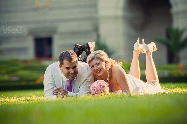 Soutěžní svatební pár číslo 131 - Veronika a Albert Jurkovičovi, Strakonice