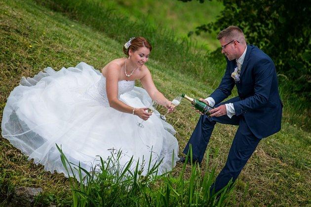 Soutěžní svatební pár číslo 153 - Jiřina a Jaroslav Sivcovi, Přerov-Čekyně
