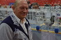 Výstava v Hluku nabídla přes pět set poštovních holubů.