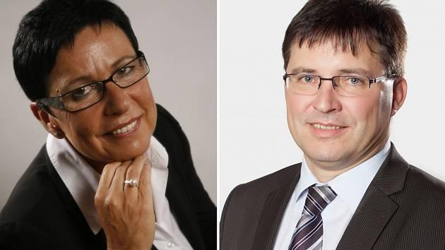 Zleva: Ivana Majíčková, Pavel Vardan