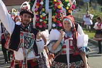 Tradiční hody ve slováckých Osvětimanech. Ilustrační foto