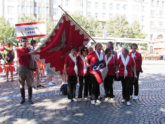 Sokolové ze všech koutů republiky a některých částí světa se po šesti letech slétli na XVI. všesokolský slet do Prahy.