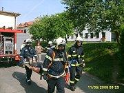 Sbor dobrovolných hasičů v Uherském Brodě.