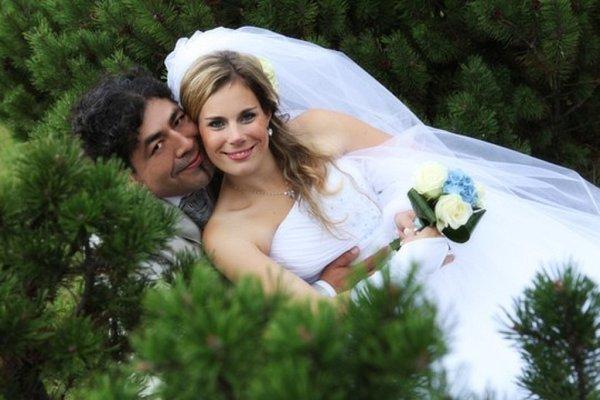 Soutěžící svatební pár číslo 34 - Petra Moscoso Orjechová a Eric Moscoso Vertiz, Zlín.