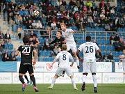 23. kolo ePojisteni.cz ligy: 1. FC Slovácko - 1.FK Příbram 1:0 (0:0) Slovácko v bílém.