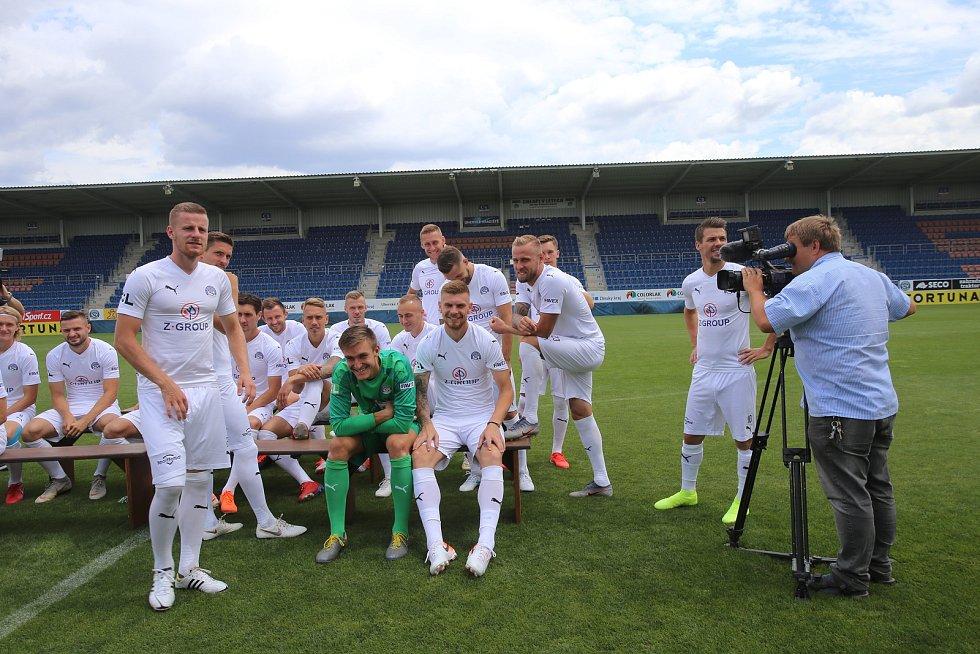 Fotografování fotbalistů 1.FC Slovácko před sezonou 2019/20