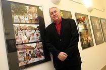 """Výstava fotografií """" Podoby víry"""" autora Pavla Popelky v Redutě v Uherském Hradišti."""