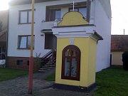 Kříž u Huštěnovic.