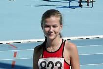 Kateřina Vávrová má před blížícím se mistrovstvím republiky žactva vynikající formu.