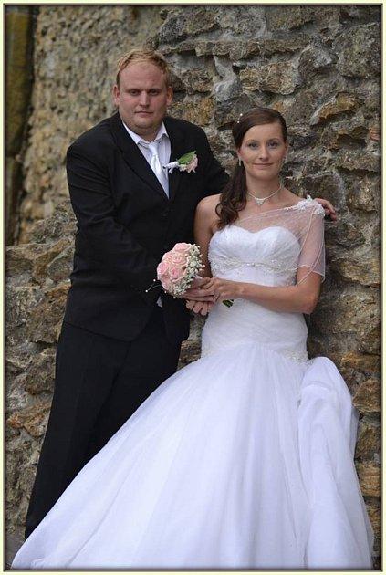 Soutěžní svatební pár číslo 13 - Vendula a Michal Bezděkovi, Provodovice