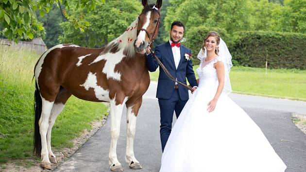 Soutěžní svatební pár číslo 157 - Kateřina a Martin Novákovi, Šumperk