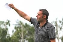 Trenér 1. FC Slovácko Svatopluk Habanec. Ilustrační foto.