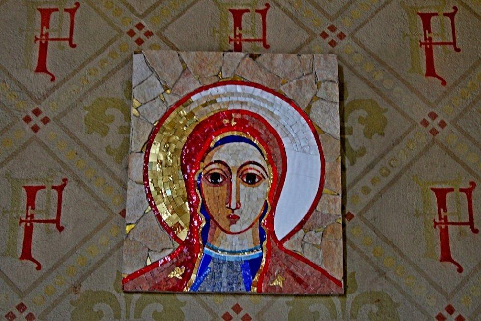 Výstava ikon ve velehradské Cyrilce