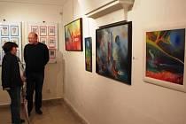 25 let fungování Sdružení výtvarných umělců moravsko – slovenského pomezí (SVUMSP).