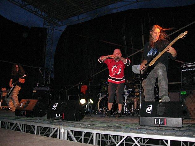 Uherskobrodská metalová čtveřice na slavkovském festivalu představila novou desku Emotions Burn.