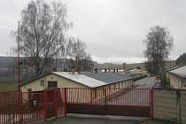 Objekt bývalých kasáren u Slavičína