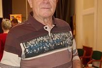Třiasedmdesátiletý řezbář František Hájek z Uherského Hradiště