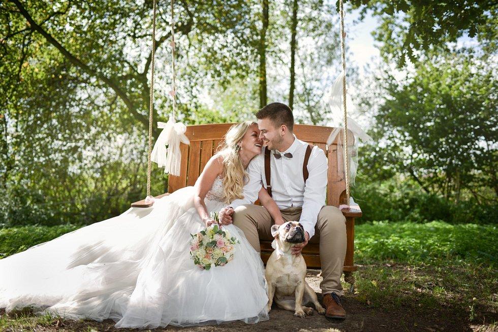 Soutěžní svatební pár číslo 143 - Andrea a Filip Petrášovi, Olomouc