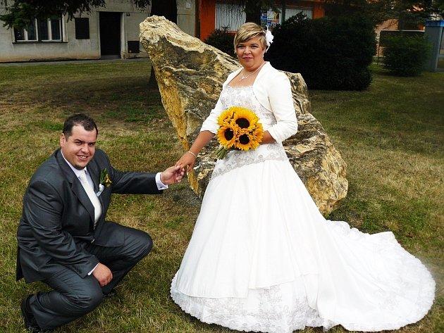 Soutěžní svatební pár 36 - Věra a Milan Fialovi, Kokory.