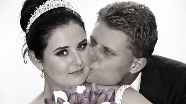 Soutěžní svatební pár číslo 37 - Petra a Libor Píšťkovi, Luhačovice.