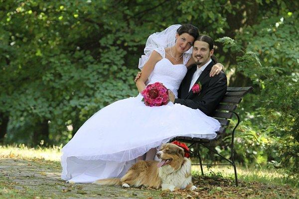 Soutěžní svatební pár číslo 58 – Irena a Jiří Cahovi, Zlín