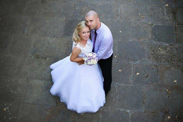 Soutěžní svatební pár číslo 90 - Šárka a Marcel Skopalovi, Kroměříž