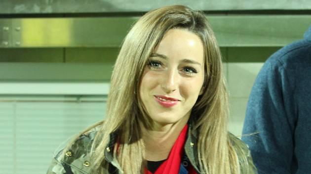 Fotbalistka Slovácka a moderátorka Kristýna Janků