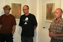 Zleva: Petr Horák, Pavel Doskočil, Lubomír Janečka