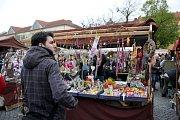 NA TRHU. Velikonoční jarmark v Hradišti, tradiční a hlavně otevřený všem.