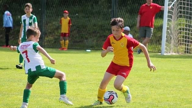 Mladí fotbalisté Bojkovic váleli v Chorvatsku