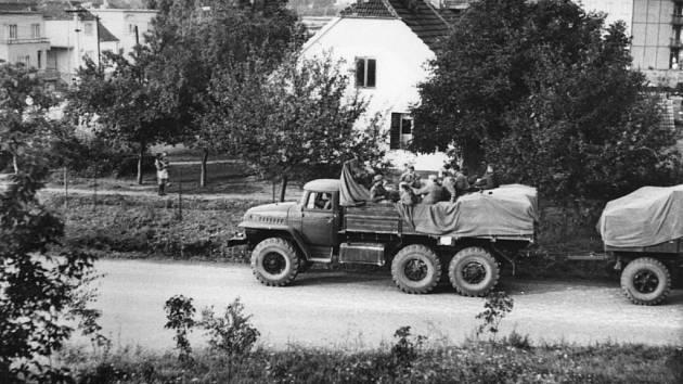 Srpnová invaze vojsk Varšavské smlouvy.