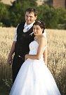 Soutěžní svatební pár číslo 132 - Adéla a Libor Šmatlovi, Raková.