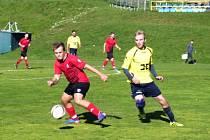 Béčko Strání po pěti zápasech, ve kterých získalo jenom dva body, se konečně dočkalo výhry. Rezerva divizního celku na Zelničkách přehrála Topolnou.