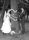 Soutěžní svatební pár číslo 117 - Petra a Daniel Gronichovi, Litovel.